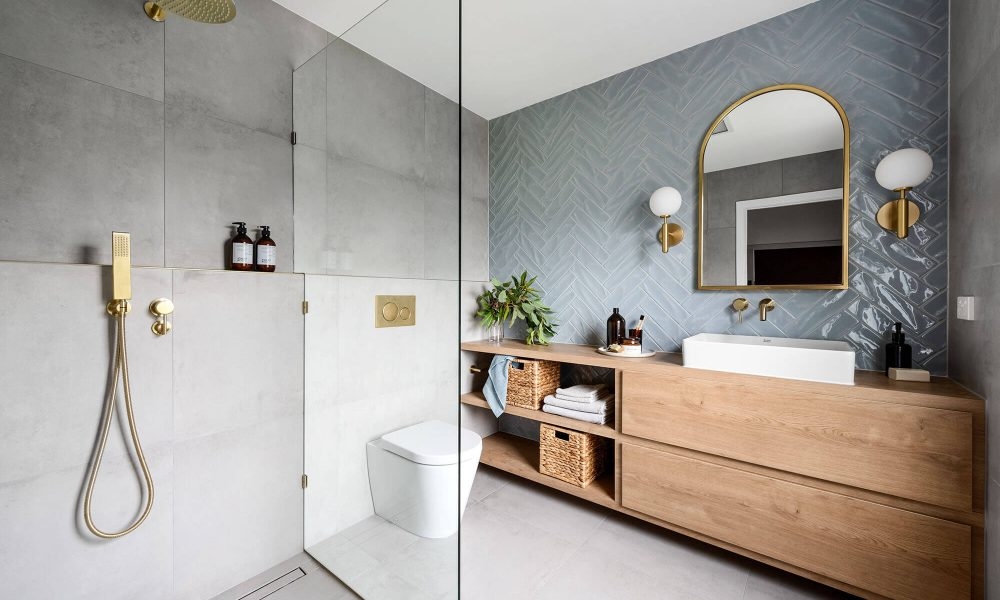 Marlow Blue Bathroom